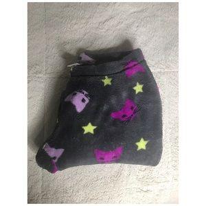 Cats & Stars Fleece Pajama Pants